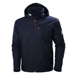 Helly Hansen CREW HOODED MIDLAYER JACKET - NAVY - XL